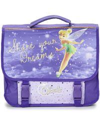 Disney - La Fee Clochette Cartable 38cm Girls's Briefcase In Purple - Lyst