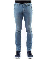 Jeckerson Chino Slim UOMO Jeans - Bleu