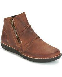 Casual Attitude HERMINA Boots - Marron