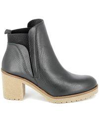 Porronet Boots Alas Noir Elastique - Negro