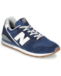 New Balance Lage Sneakers 996 - Blauw