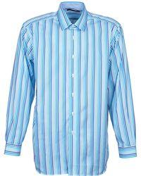 Pierre Cardin Overhemd Lange Mouw 538036745-116 - Blauw