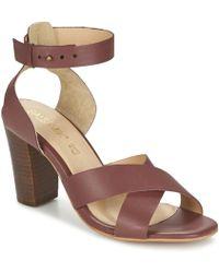 Balsamik - Makar Women's Sandals In Red - Lyst