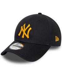 KTZ Casquette Casquette New York Yankees 9forty - Bleu