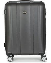 David Jones Chauvetto 107l Women's Hard Suitcase In Grey