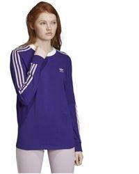 adidas - 3 Str Ls Tee T-shirt - Lyst