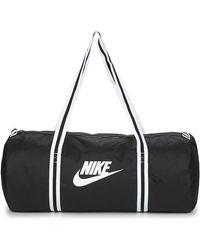 Nike Bolsa de deporte NK HERITAGE DUFF - Negro
