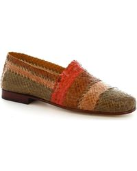 Leonardo Shoes Mocassins 3 Vitello Multicolor - Bruin