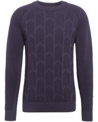 G-Star RAW - Suzaki Biker Knitted Pullover Pull - Lyst