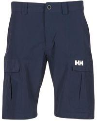 Helly Hansen Pantaloni Corti Hh Cargo - Blu