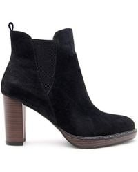 Big Star - Bb274392 Women's Low Ankle Boots In Black - Lyst