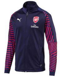 PUMA Trainingsjack Arsenal Fc Stadium Jacket 18/19 - Blauw
