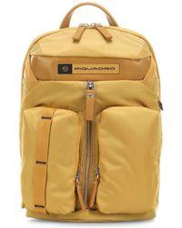 Piquadro Mochila - ca5038bio - Amarillo