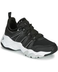 Skechers Lage Sneakers D'lites 3.0 - Zwart