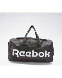 Reebok Sporttas Active Core Grip Tas Medium - Zwart