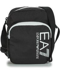 EA7 Handtasje Train Core U Pouch Bag Small B - Zwart