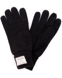 Guess Handschoenen Am8586wol02 - Zwart