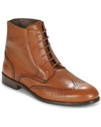 So Size - Hufran Men's Mid Boots In Brown - Lyst