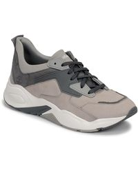 Timberland Lage Sneakers Delphiville Leather Sneak - Grijs