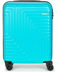 American Tourister Spinner 55cm Hard Suitcase - Blue