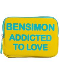 Bensimon Bolso F19384C52115 - Mujer - Amarillo
