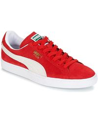 PUMA Baskets Suede Classic - Rouge