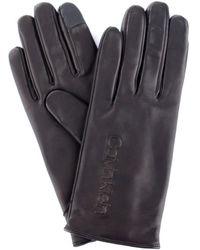 Calvin Klein Handschoenen K60k605759 - Zwart