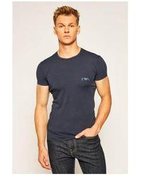 Armani Camiseta 1116700a715 - Azul