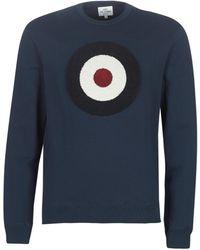 Ben Sherman Sweater Boucle Target Sweatshirt - Blauw