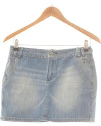 Pepe Jeans Jupe Courte 36 - T1 - S Jupes - Bleu