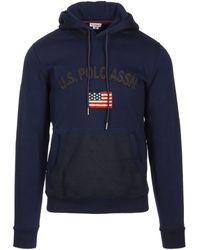 U.S. POLO ASSN. 50446 49151 Sweatshirt - Blue