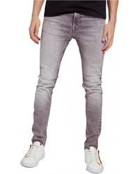 Guess M1RA27 D4BA1 Jeans skinny - Gris