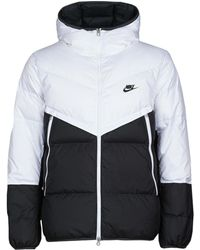 Nike Donsjas M Nsw Dwn Fil Wr Jkt Shld - Wit
