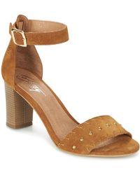 Betty London - Grady Women's Sandals In Brown - Lyst