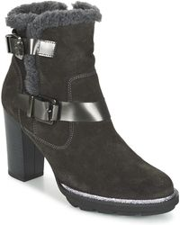 Fericelli - Faika Women's Low Ankle Boots In Grey - Lyst