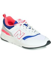 New Balance Lage Sneakers Cm997 - Wit