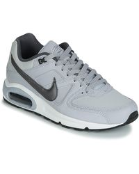Nike Lage Sneakers Air Max Command Leather - Grijs