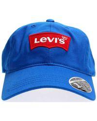 Levi's Casquette Levis 228054 BIG BATWING - Bleu