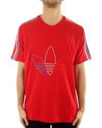 adidas GR0534 Chemise - Rouge