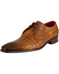 Jeffery West Derbies Chaussures en cuir - Marron