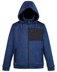 Regatta Westbrook Heavyweight Full Zip Hooded Fleece Blue Fleece Jacket