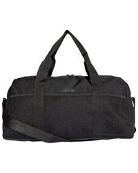 adidas Core Duffel Women's Sports Bag In Black