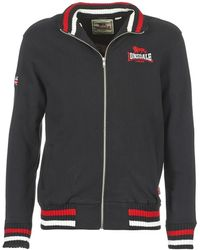 Lonsdale London Sweater Dover - Zwart