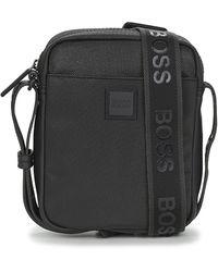 BOSS by Hugo Boss Handtasje Hyper P Ns Zip - Zwart
