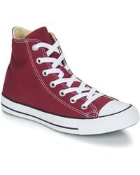 Converse Hoge Sneakers Chuck Taylor All Star Core Hi - Rood