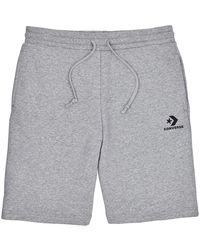 Converse Shorts Sport Embroidered Star Chevron 10008817-A03 - Grau