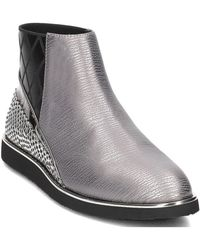 United Nude - Tommy Lee Women's Low Ankle Boots In Silver - Lyst