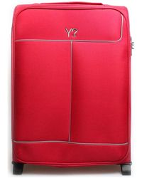 Y Not? ? J-7002 Soft Suitcase - Red