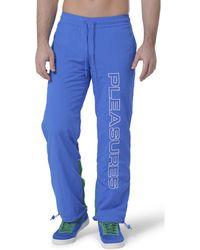 Reebok Cl V Uni Pleasures Pant Jogging - Bleu