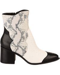MAJORELLE Boots - - Blanc - 36 Boots